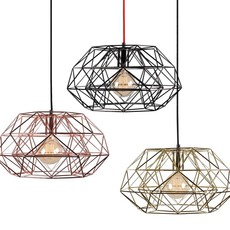 Diamond 7  suspension pendant light  filamentstyle filament025  design signed 51836 thumb