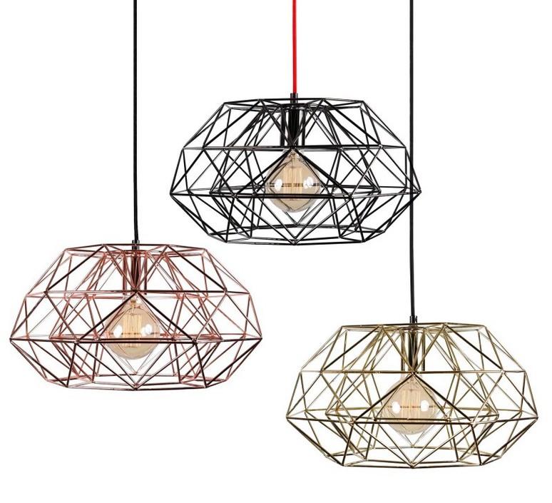 Diamond 7  suspension pendant light  filamentstyle filament026  design signed 51840 product