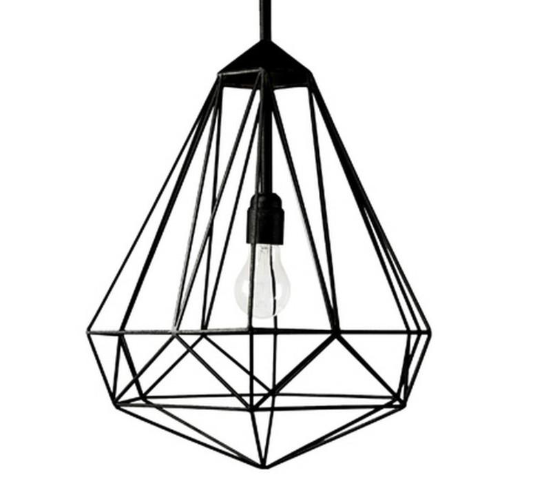 Diamond medium sylvie meuffels jspr diamond medium black luminaire lighting design signed 12024 product