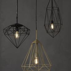 Diamond medium sylvie meuffels jspr diamond medium black luminaire lighting design signed 12025 thumb