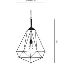 Diamond medium sylvie meuffels jspr diamond medium black luminaire lighting design signed 12026 thumb