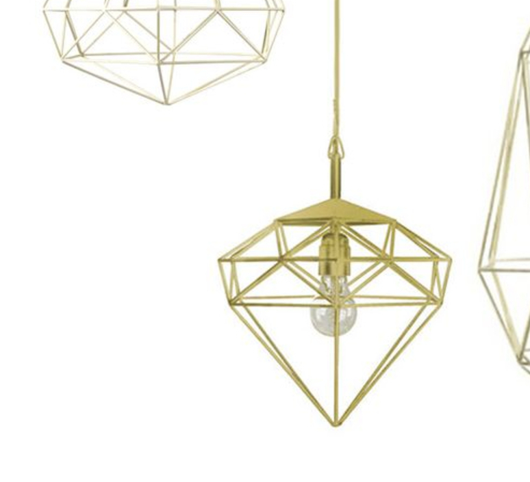 Diamond small sylvie meuffels jspr diamond small brass luminaire lighting design signed 12019 product