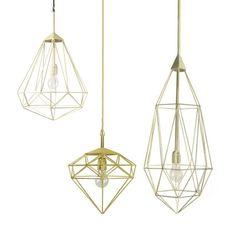 Diamond small sylvie meuffels jspr diamond small brass luminaire lighting design signed 12021 thumb