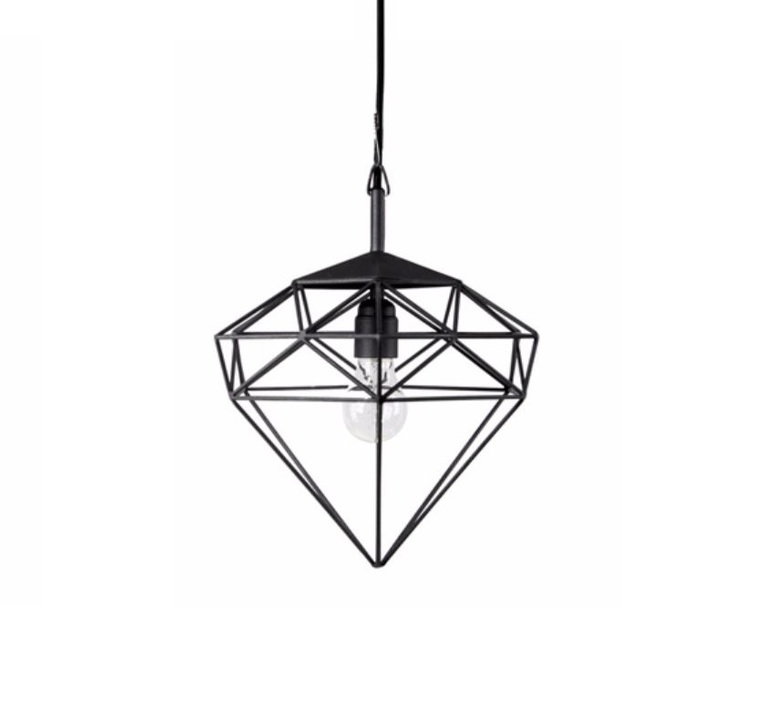 Diamond small sylvie meuffels jspr diamond small black luminaire lighting design signed 26840 product