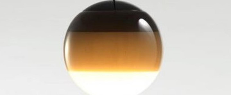 Suspension dipping light 13 noir led 2700k 500lm o13 5cm cm marset normal