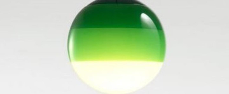 Suspension dipping light 13 vert led 2700k 500lm o13 5cm cm marset normal