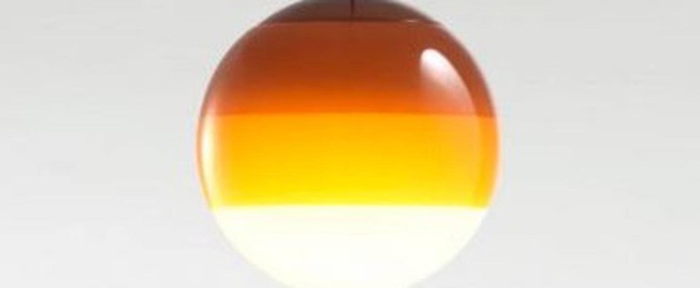 Suspension dipping light 20 ambre led 2700k 500lm o20cm cm marset normal