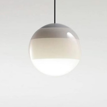 Suspension dipping light 20 blanc led 2700k 500lm o20cm cm marset normal