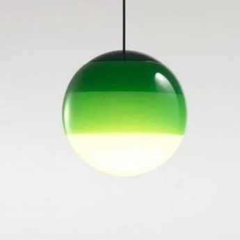 Suspension dipping light 20 vert led 2700k 1019lm o30cm cm marset normal