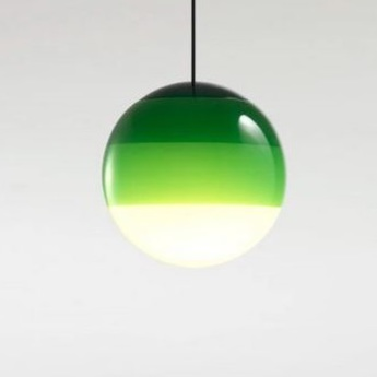 Suspension dipping light 20 vert led 2700k 500lm o20cm cm marset normal