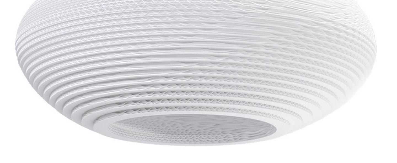 Suspension disc 20 blanc h23cm o50cm graypants normal