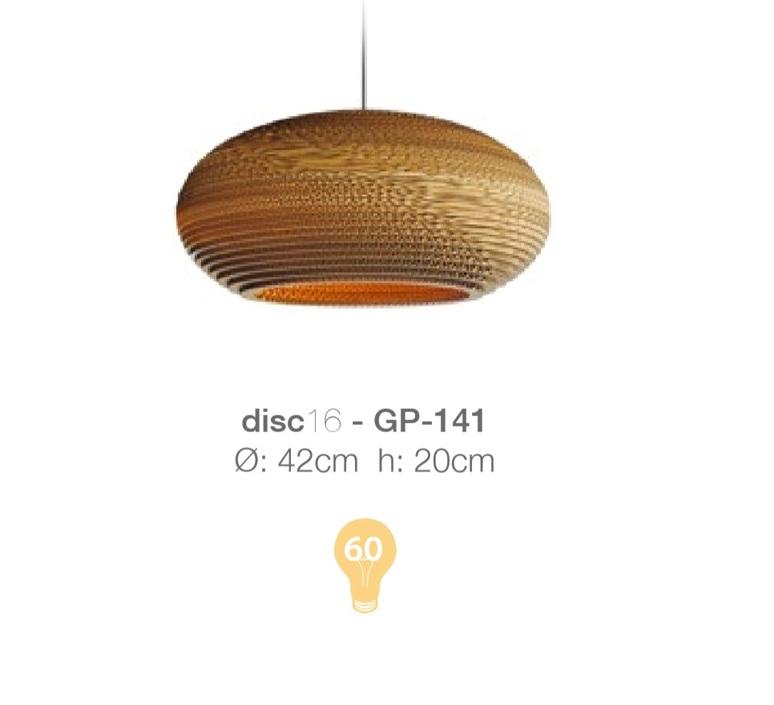 Disc seth grizzle jonatha junker graypants dark gp 141 luminaire lighting design signed 12818 product