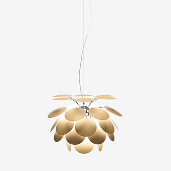 Suspension discoco beige o35cm marset normal