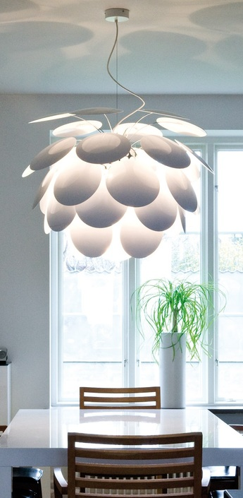 Suspension discoco blanc o88cm marset normal