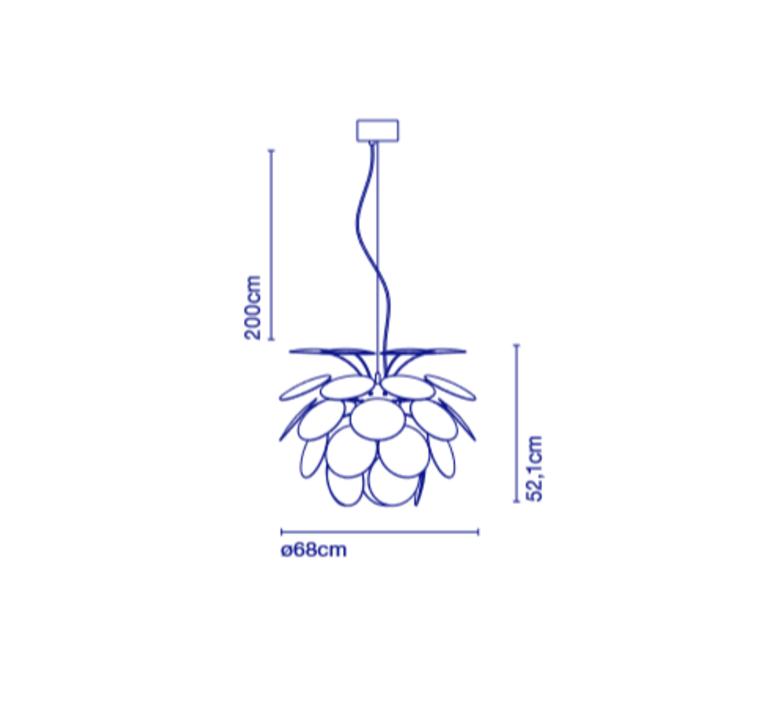 Discoco christophe mathieu suspension pendant light  marset a620 161  design signed 53000 product