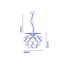 Discoco christophe mathieu suspension pendant light  marset a620 161  design signed 53000 thumb