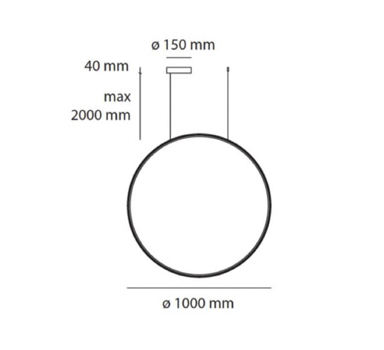 Mezzachimera s vico magistretti suspension pendant light  artemide 0055010a  design signed nedgis 75614 product