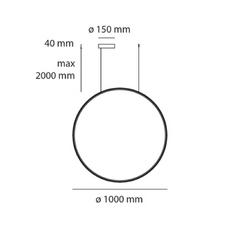 Mezzachimera s vico magistretti suspension pendant light  artemide 0055010a  design signed nedgis 75614 thumb