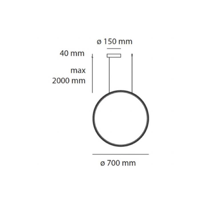 Lesbo quaglio simonelli suspension pendant light  artemide 0054010a  design signed nedgis 75607 product