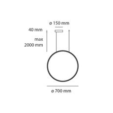 Lesbo quaglio simonelli suspension pendant light  artemide 0054010a  design signed nedgis 75607 thumb