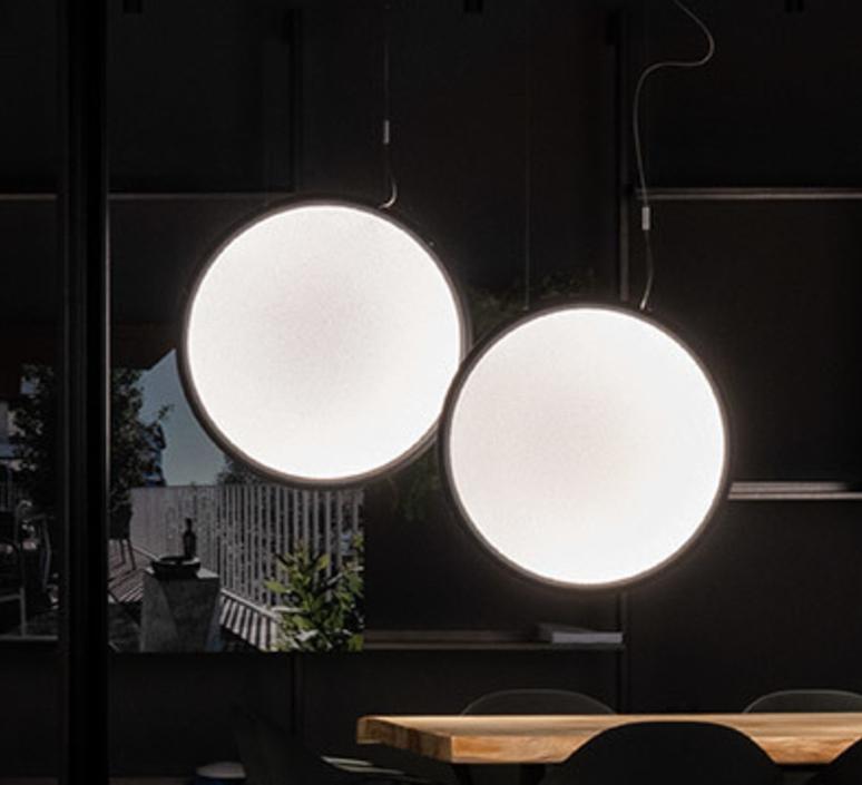 Lesbo quaglio simonelli suspension pendant light  artemide 0054010a  design signed nedgis 75609 product
