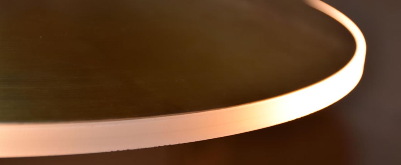 Suspension dish v10 laiton led o24cm h6cm graypants normal