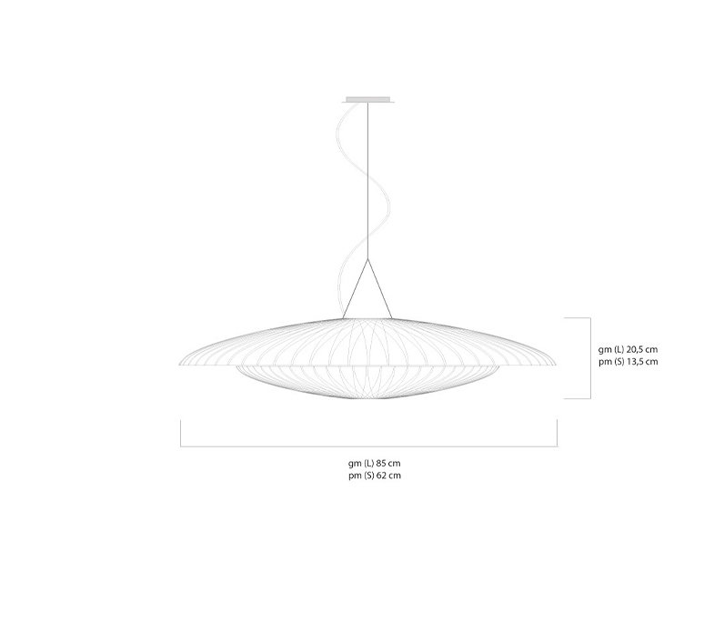 Diva celine wright celine wright diva suspension luminaire lighting design signed 108012 product