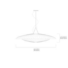 Diva celine wright celine wright diva suspension luminaire lighting design signed 108012 thumb