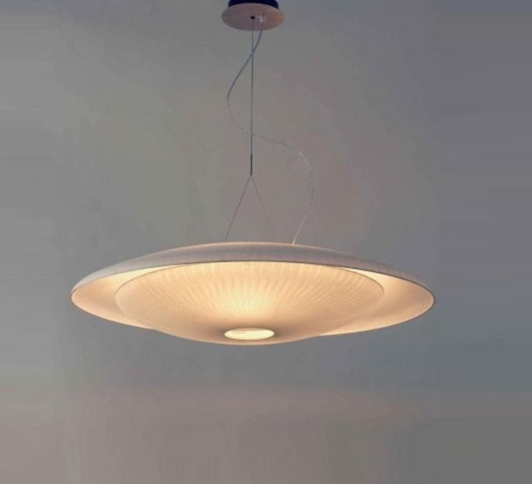 suspension diva blanc 85cm celine wright luminaires nedgis. Black Bedroom Furniture Sets. Home Design Ideas
