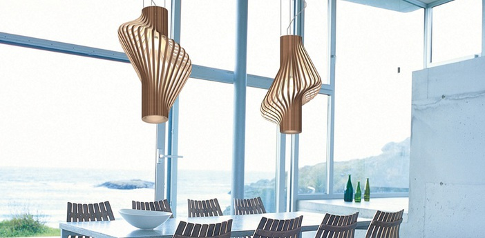 Suspension diva noyer o48 5cm h80cm northern lighting normal