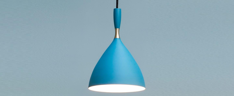 Suspension dokka bleu aqua h24cm northern lighting normal