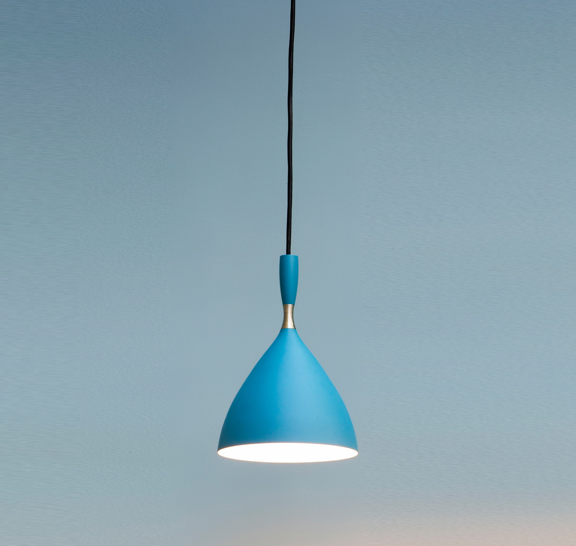 Pendant light, Dokka, aqua blue, H24cm - Northern-Lighting - Nedgis ...