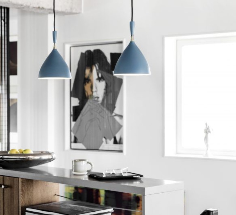 Dokka birger dahl northern lighting dokka petrol blue luminaire lighting design signed 39968 product