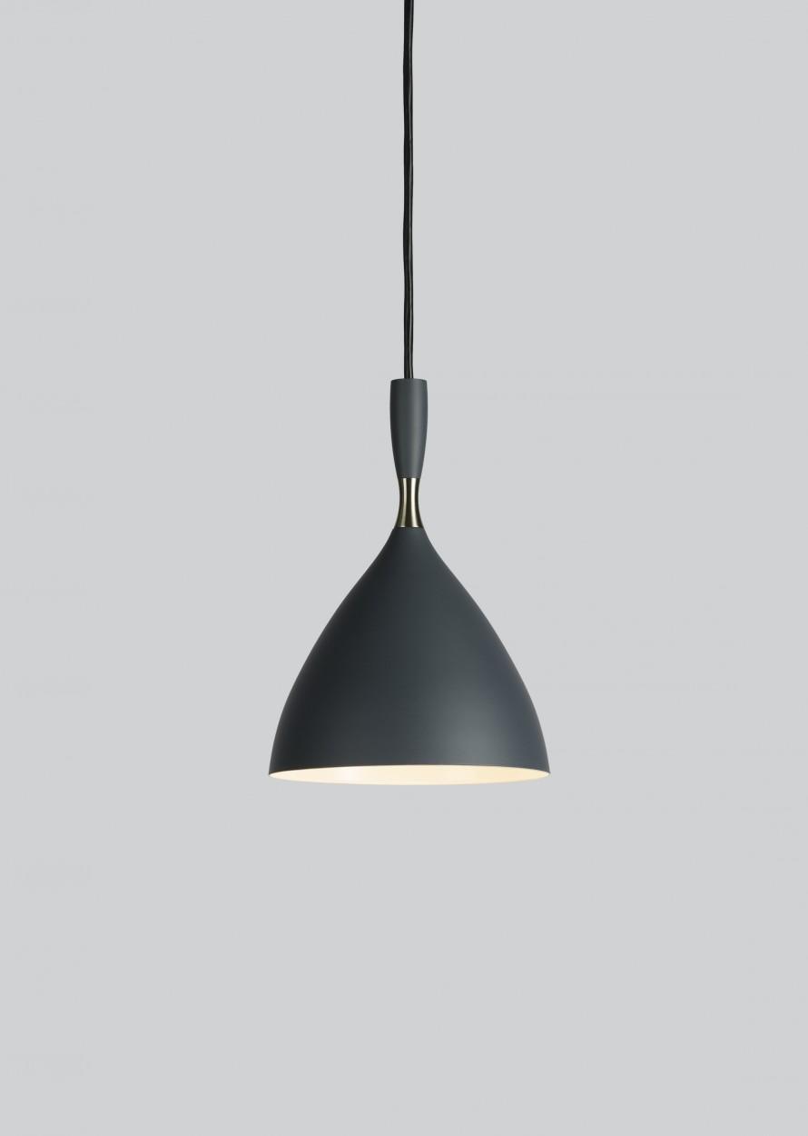 suspension dokka gris clair h24cm northern luminaires nedgis. Black Bedroom Furniture Sets. Home Design Ideas