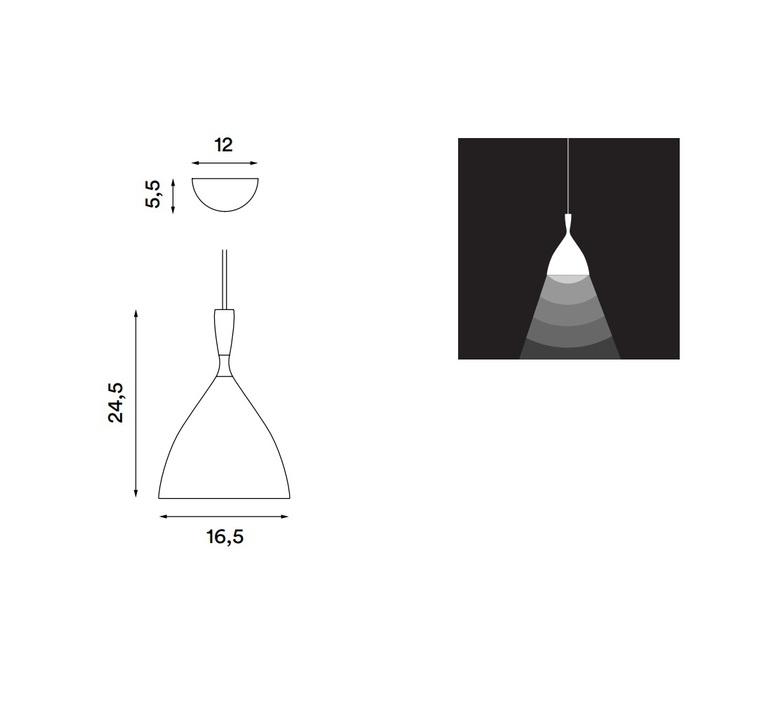 Dokka birger dahl northern lighting dokka black luminaire lighting design signed 19302 product