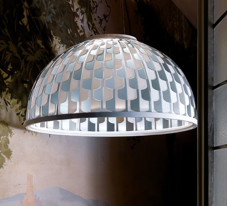 Dome l analogia project suspension pendant light  slamp dom94sos0003b 000  design signed nedgis 66114 product