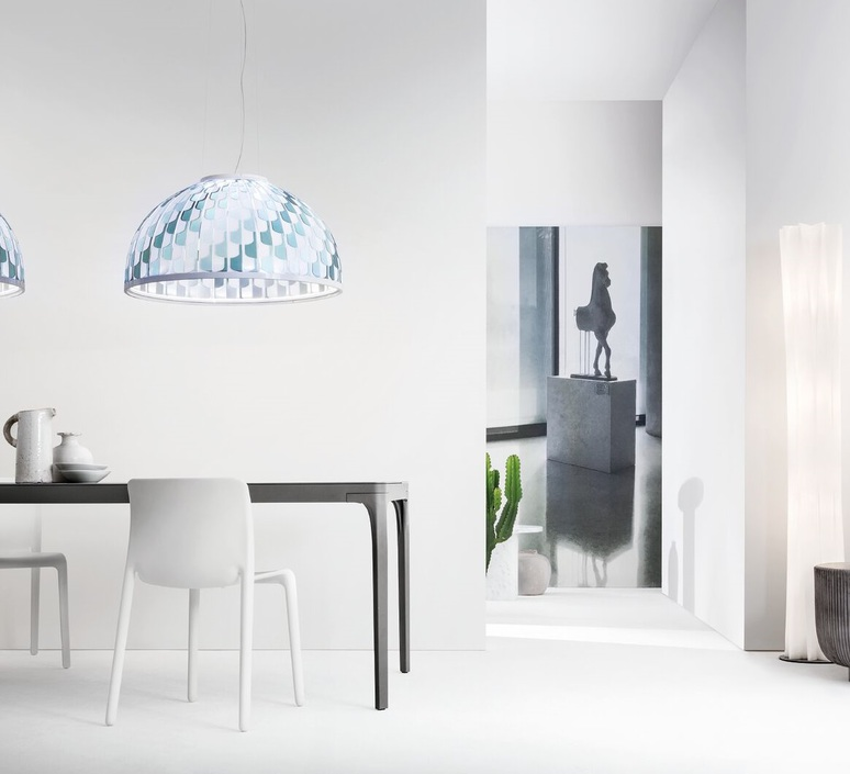 Dome l analogia project suspension pendant light  slamp dom94sos0003b 000  design signed nedgis 66115 product