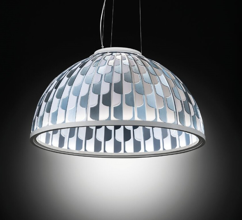 Dome l analogia project suspension pendant light  slamp dom94sos0003b 000  design signed nedgis 66116 product