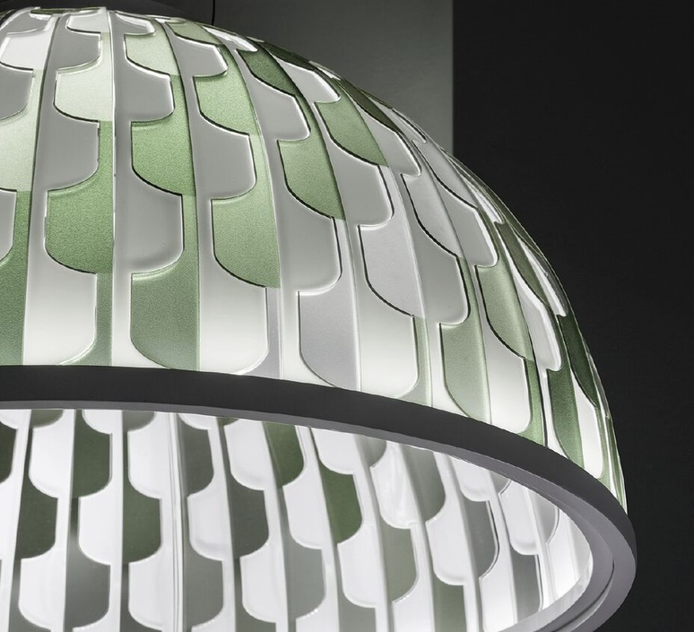 Dome l analogia project suspension pendant light  slamp dom94sos0003v 000   design signed nedgis 66120 product