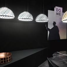 Dome m analogia project suspension pendant light  slamp dom94sos0001b 000  design signed nedgis 66095 thumb