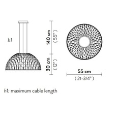 Dome m analogia project suspension pendant light  slamp dom94sos0001b 000  design signed nedgis 66289 thumb