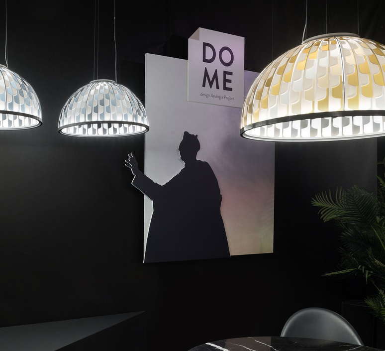 Dome m analogia project suspension pendant light  slamp dom94sos0001a 000  design signed nedgis 66106 product