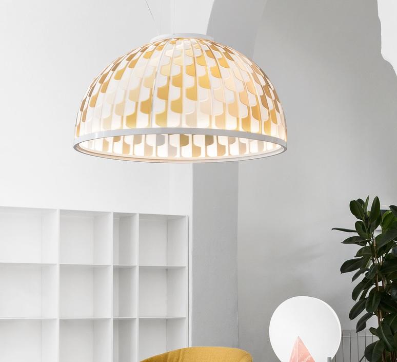 Dome m analogia project suspension pendant light  slamp dom94sos0001a 000  design signed nedgis 66107 product