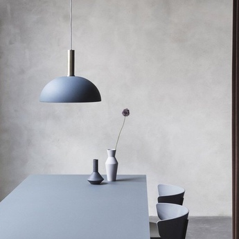 Suspension dome shade bleu o38cm h16cm ferm living normal