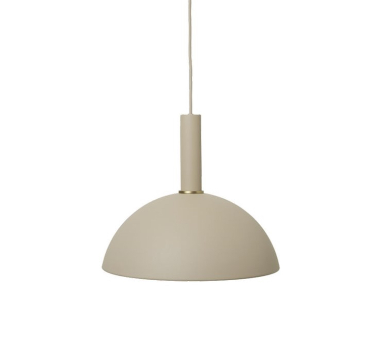 Dome shade trine andersen suspension pendant light  ferm living 100303693 100297693  design signed nedgis 77333 product