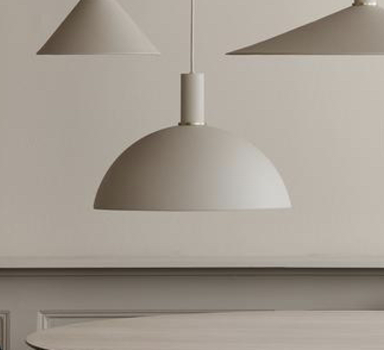 Dome shade trine andersen suspension pendant light  ferm living 100303693 100295693  design signed nedgis 77329 product