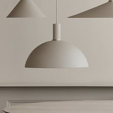 Dome shade trine andersen suspension pendant light  ferm living 100303693 100295693  design signed nedgis 77329 thumb