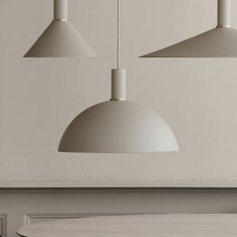 Suspension dome shade cachemire o38cm h31cm ferm living normal
