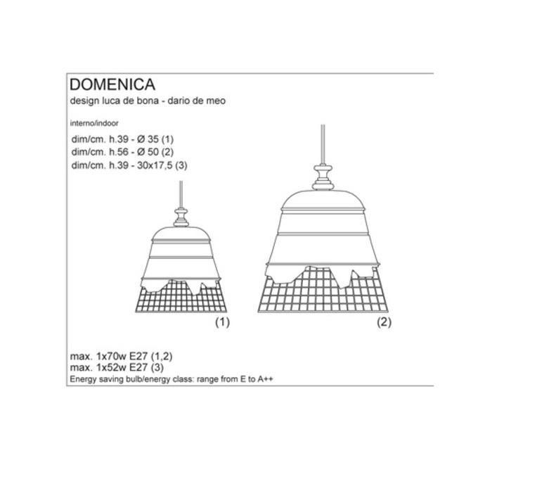 Domenica luca de bona karman karman se102 2b int luminaire lighting design signed 20249 product
