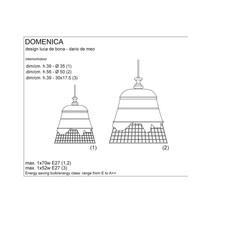 Domenica luca de bona karman karman se102 2b int luminaire lighting design signed 20249 thumb